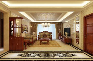 安宁庭院150平欧式古典装修效果图