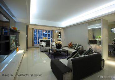 怡和景苑144平四室二厅现代简约装修案例