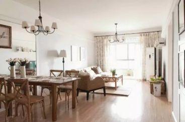 昆盛肖邦100平三室二厅美式装修效果图
