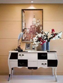 天安花园143平三室二厅美式装修效果图