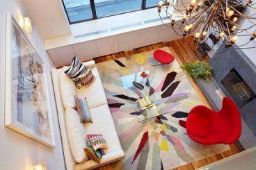 天空之城30平一室一厅现代简约装修效果图