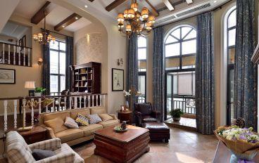 春语江山350平四室二厅美式装修效果图