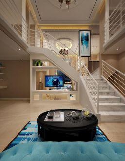海大公寓60平二室一厅简欧装修效果图