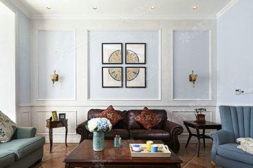 观阳名邸142平三室二厅地中海装修效果图