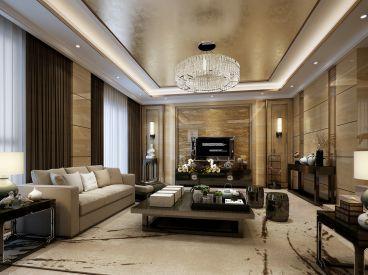 君地上郡288平四室三厅现代简约装修案例