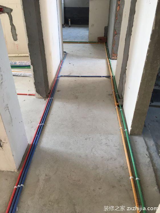 福晟钱隆城130平三室二厅简欧装修效果图
