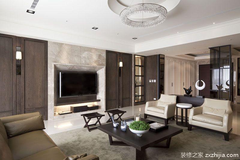 园区八室四厅现代简约装修效果图
