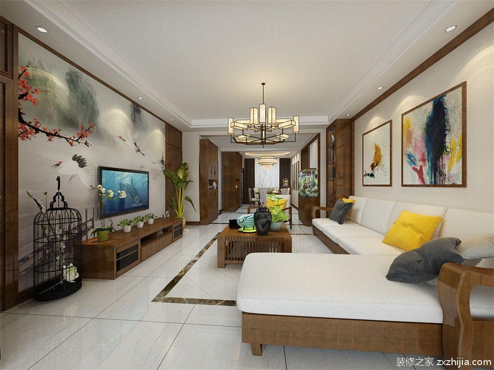 宁河朝阳花园半包二室一厅装修效果图