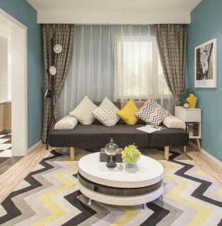 奥山世纪城澜橼89平二室二厅现代简约装修