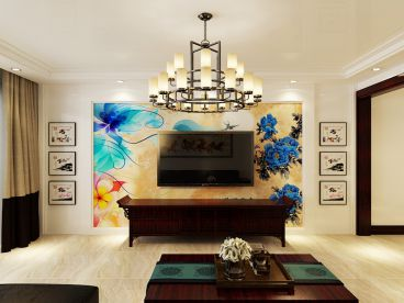 明祥园187平四室二厅现代简约装修效果图