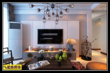中垠雅苑126平三室二厅装修效果图