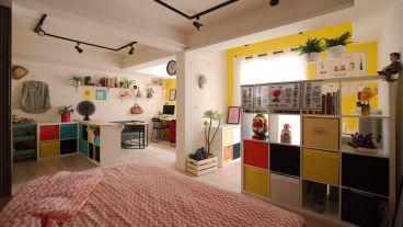 青年居易一室一厅全包装修效果图