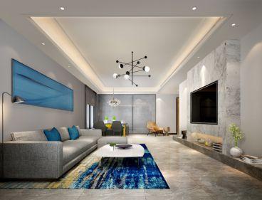 芭缇雅苑全包三室二厅装修效果图