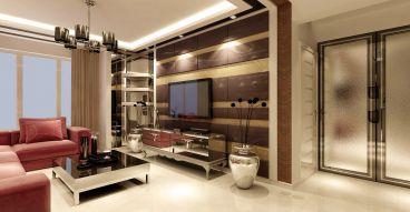 益格风情湾92平二室一厅装修效果图