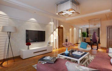 远创紫樾台二室二厅现代简约装修效果图