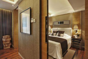 绿地国际城三室二厅120平装修效果图