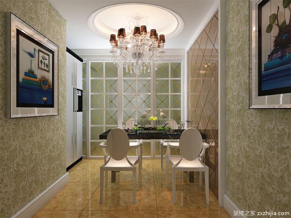描述:这套户型在设计风格上选择了广受大众喜爱的简欧风格,简欧风格线条简洁精炼的同时还带有欧洲的气息,无论在什么时候都能让人眼前一亮,简单中吐露着别样的风情,让人心情瞬时愉悦。主卧室采用干净温馨的黄色调为主,吊顶做了平顶,并在顶子上放了欧式的主灯,窗帘选择的浅咖色与室内的主体颜色做呼应形成对比。