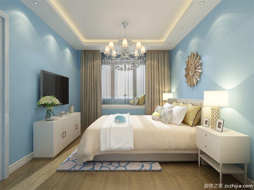 观锦二室二厅欧式古典装修效果图图片