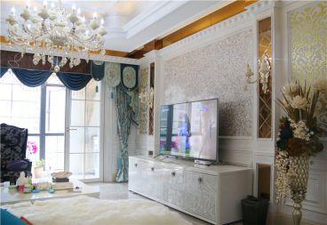 中海金沙湾四室二厅新古典装修效果图