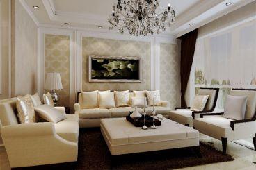 君熙太和美式三室二厅装修效果图