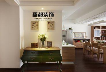 六合天寓三室二厅现代简约装修效果图