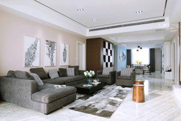 世纪瑞庭三室二厅140平装修效果图
