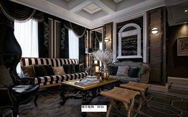 绿城玫瑰园半包五室二厅装修效果图