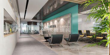 南山快鸽按揭2500平办公楼装修案例