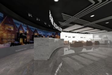 中山展厅零室零厅现代简约装修效果图