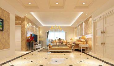 湘银·金色阳光全包160平装修效果图