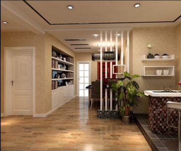 元一蔚蓝观邸住宅三室二厅现代简约装修效果