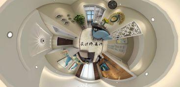 联投龙湾三期现代简约三室二厅装修效果图