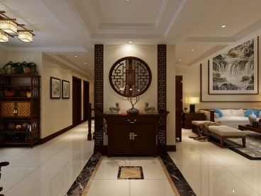 金水湾260平米270平四室二厅装修效果