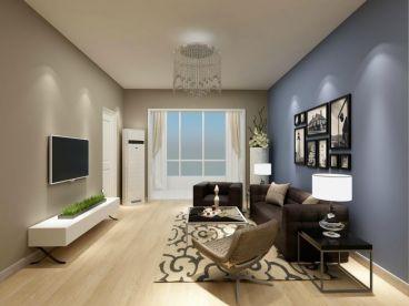 金地酩悦二室二厅全包装修效果图