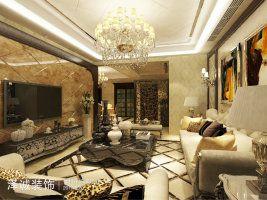 中建悦海和园简欧四室二厅装修效果图