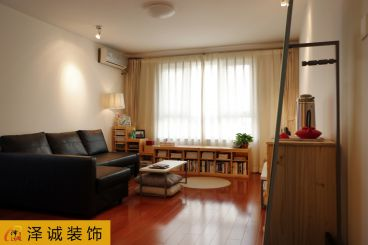 栖里凤台山庄现代简约128平二室二厅装修