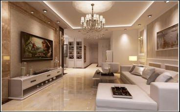 海琴湾三室二厅140平装修效果图