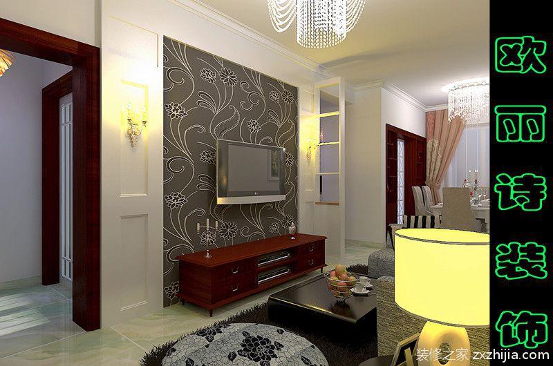 三室二厅128平全包装修效果图