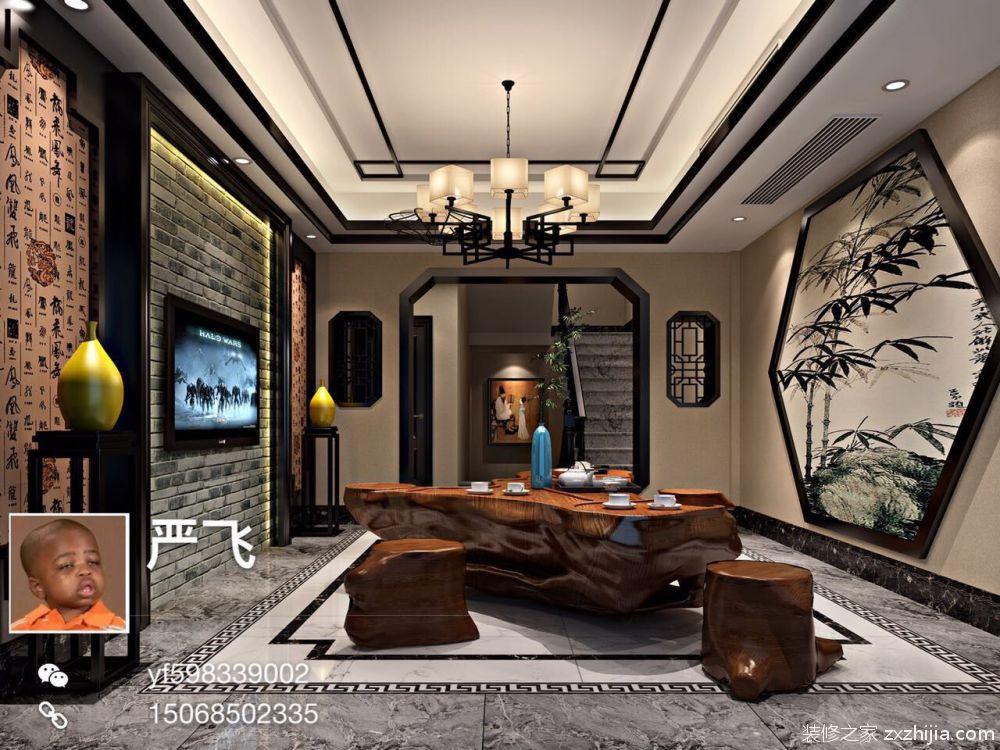 自建房四室四厅280平装修效果图
