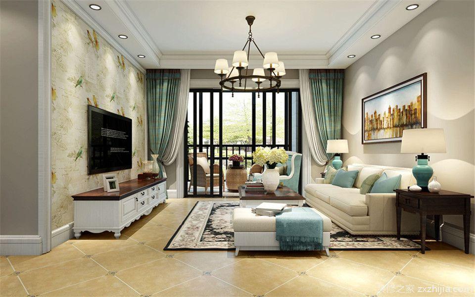 合肥铜冠花园全包二室二厅装修效果图