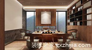 博林天瑞210平四室二厅装修效果图