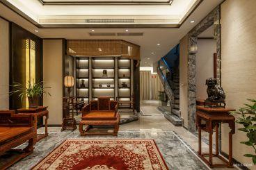 扬州市世纪豪园新中式全包装修效果图