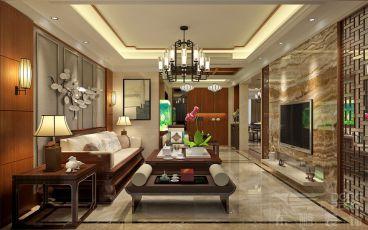 颐和盛世别墅250平五室二厅装修效果图