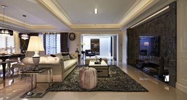天阳尚城国际三室二厅116平装修效果图