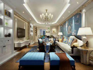 193平三室二厅简欧装修效果图