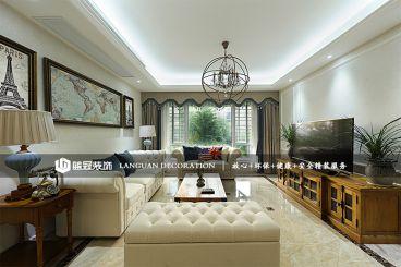 锦润公寓全包美式装修效果图