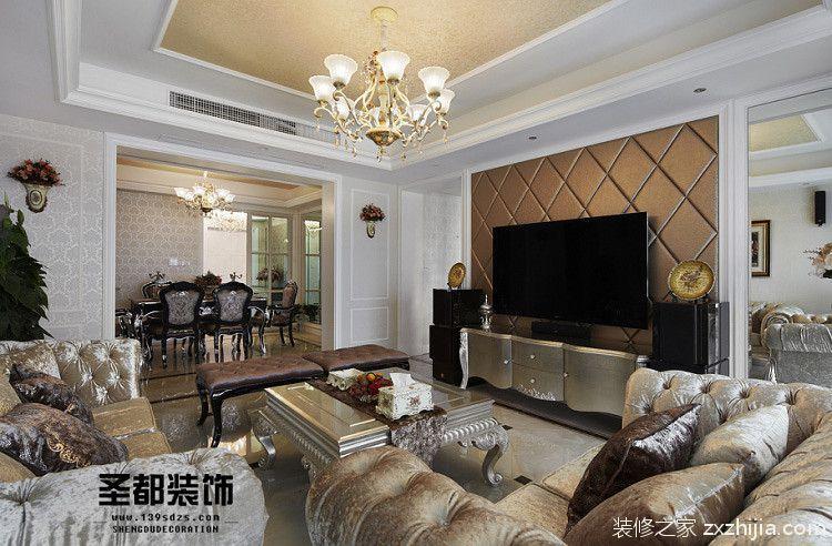赞成林枫180平四室二厅装修效果图