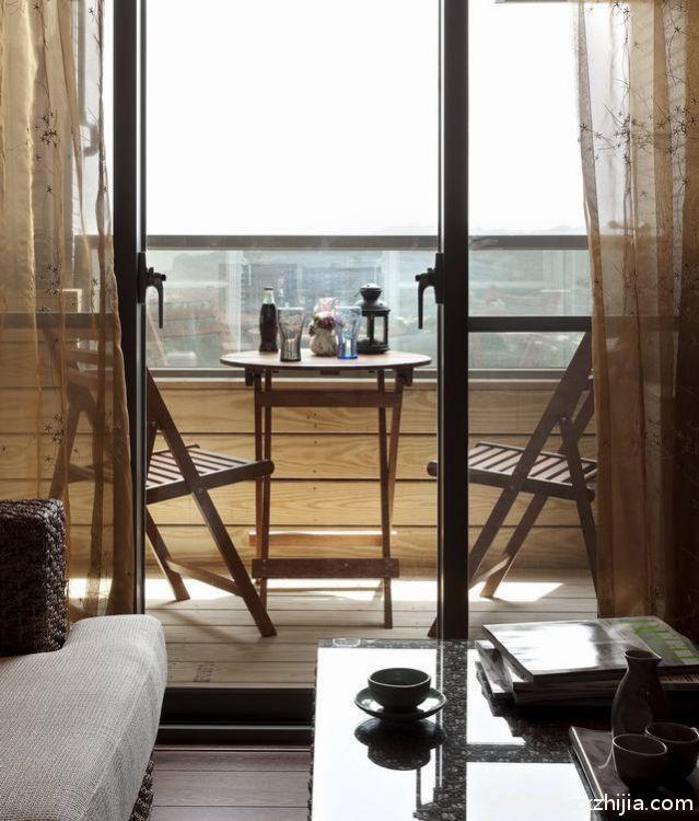 中亿阳明山水56平一室一厅装修效果图