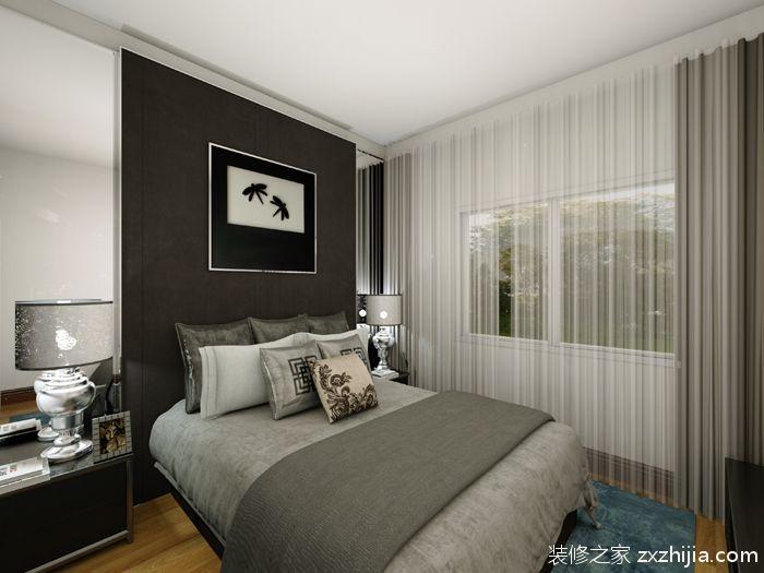 景泰直街二室一厅现代简约装修效果图