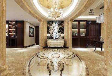 紫金城全包四室二厅300平装修效果图